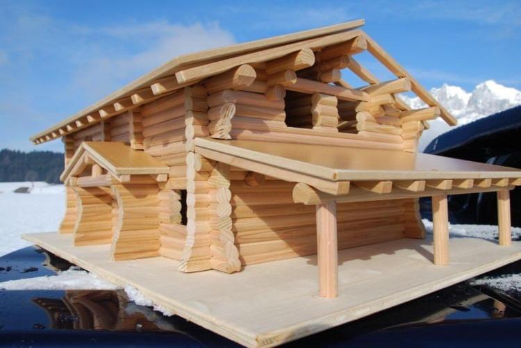 modell real canadian cedar homes st johann in tirol. Black Bedroom Furniture Sets. Home Design Ideas